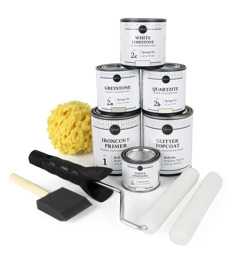 Giani White Diamond Countertop Paint Kit In 2019