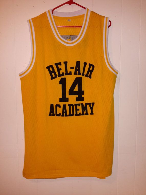Vintage 14 Smith Yellow Home Jersey Bel Air by RetroVintageDope