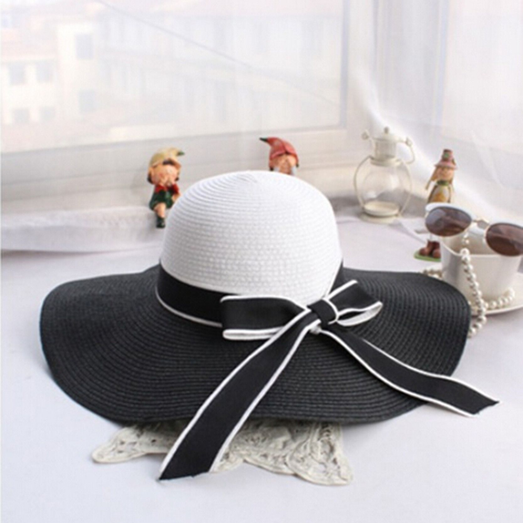 892ec3b7 Women's Classic Daisy Summer Beach Hat | Products | Pinterest ...