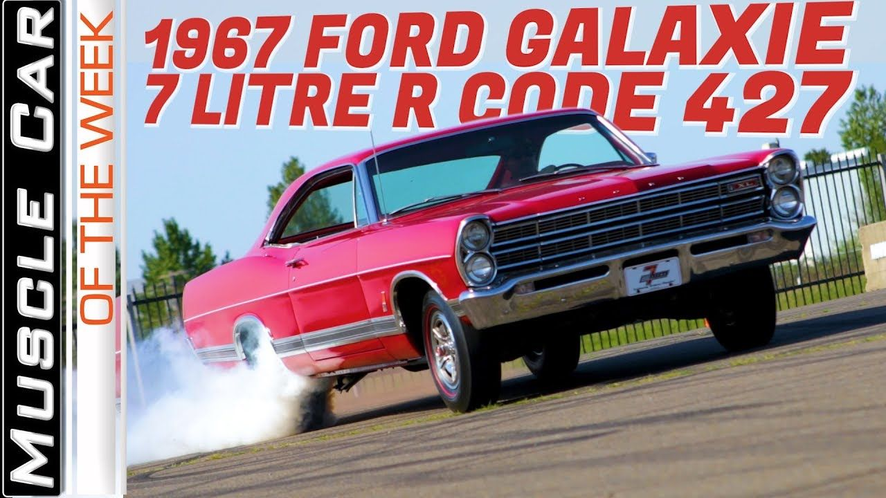 1967 Ford Galaxie 7 Litre R Code 427 Muscle Car Of The Week Video Episode 317 Youtube Ford Galaxie Galaxie Muscle Cars