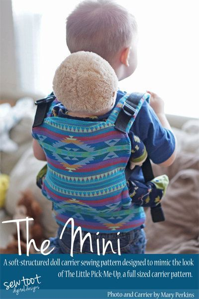 Doll Carrier Pattern - The Mini by Sew Toot - Digital PDF Sewing ...