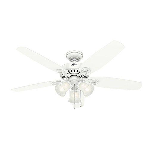 79 Hunter 53236 Builder Plus 52 Inch Ceiling Fan Snow White Https Www Amazon Com Dp B00esvxs8i Ref Ceiling Fan With Light Ceiling Fan White Ceiling Fan