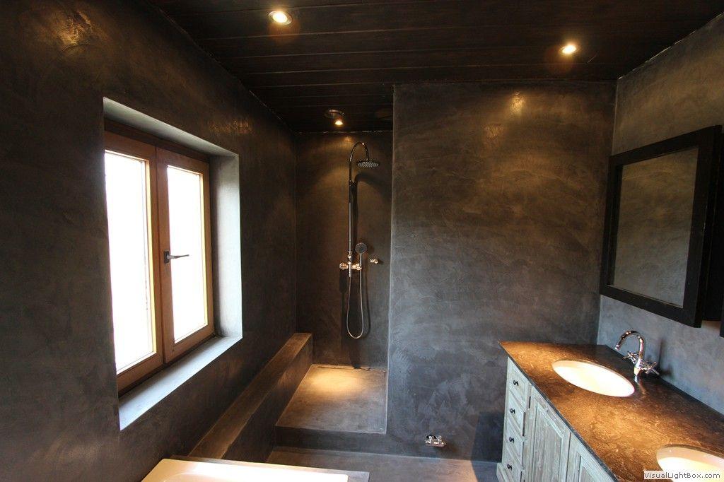 Mortex Renovatie : Volledige badkamer - Landhuis Boutersem ...