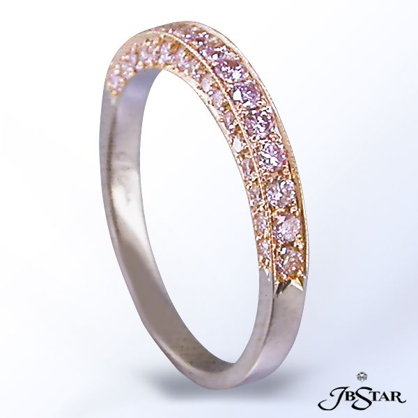 Jb Star Pink Diamond Band Available At Alson Jewelers Pink