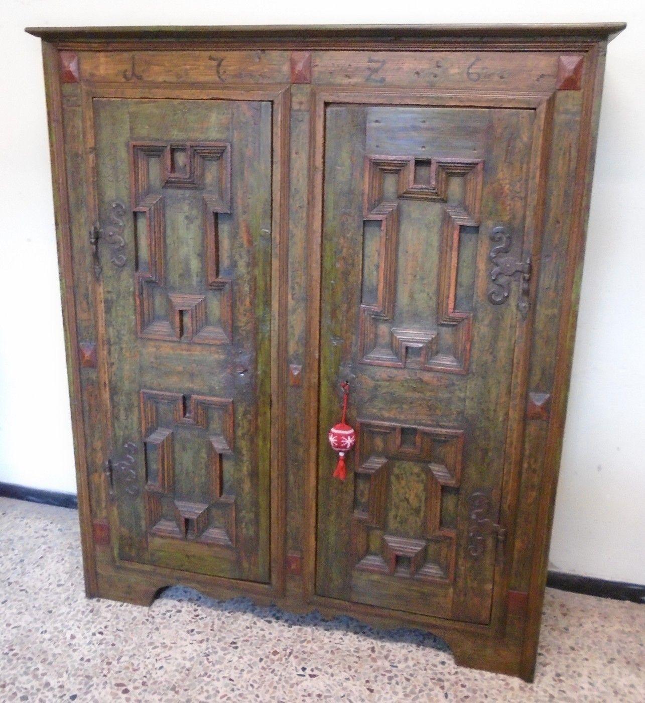 Armadio dipinto prov carinzia antichit evelina - Mobili dipinti tirolesi ...