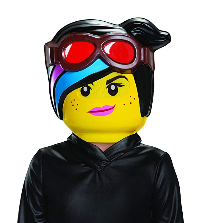 : Verkleidung für Lucy LEGO Movie 2 Half Mask: Toys & Games   - EVERYTHING IS COSPLAY -
