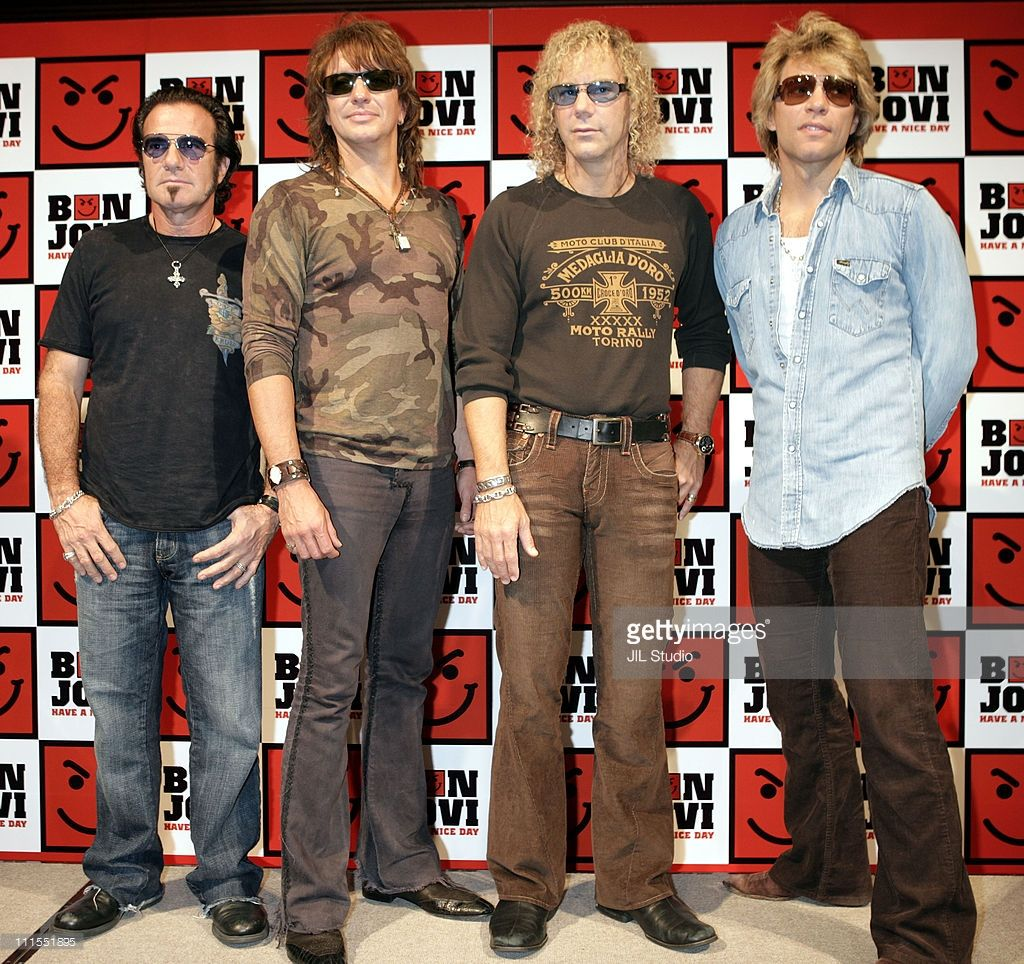 Bon Jovi Tokyo Press Conference For Their New Album Have A Nice
