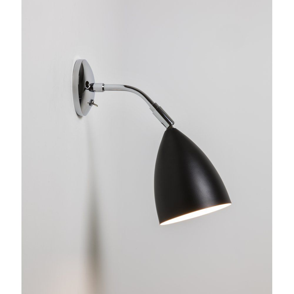 Astro 7157 joel wall 1 light switched wall light black and polished astro 7157 joel wall 1 light switched wall light black and polished chrome aloadofball Gallery