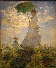 "Claude Monet ""La promenade"" (1875)"