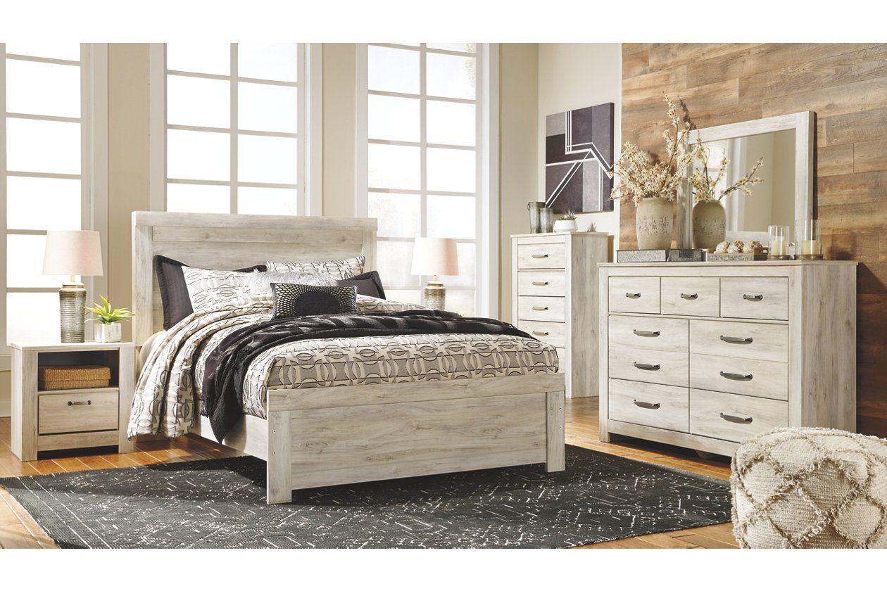 Bellaby Queen Panel Bed Queen panel beds, White panel