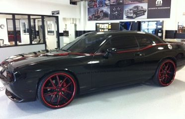 2008 Dodge Challenger in for service  Very rare   dark