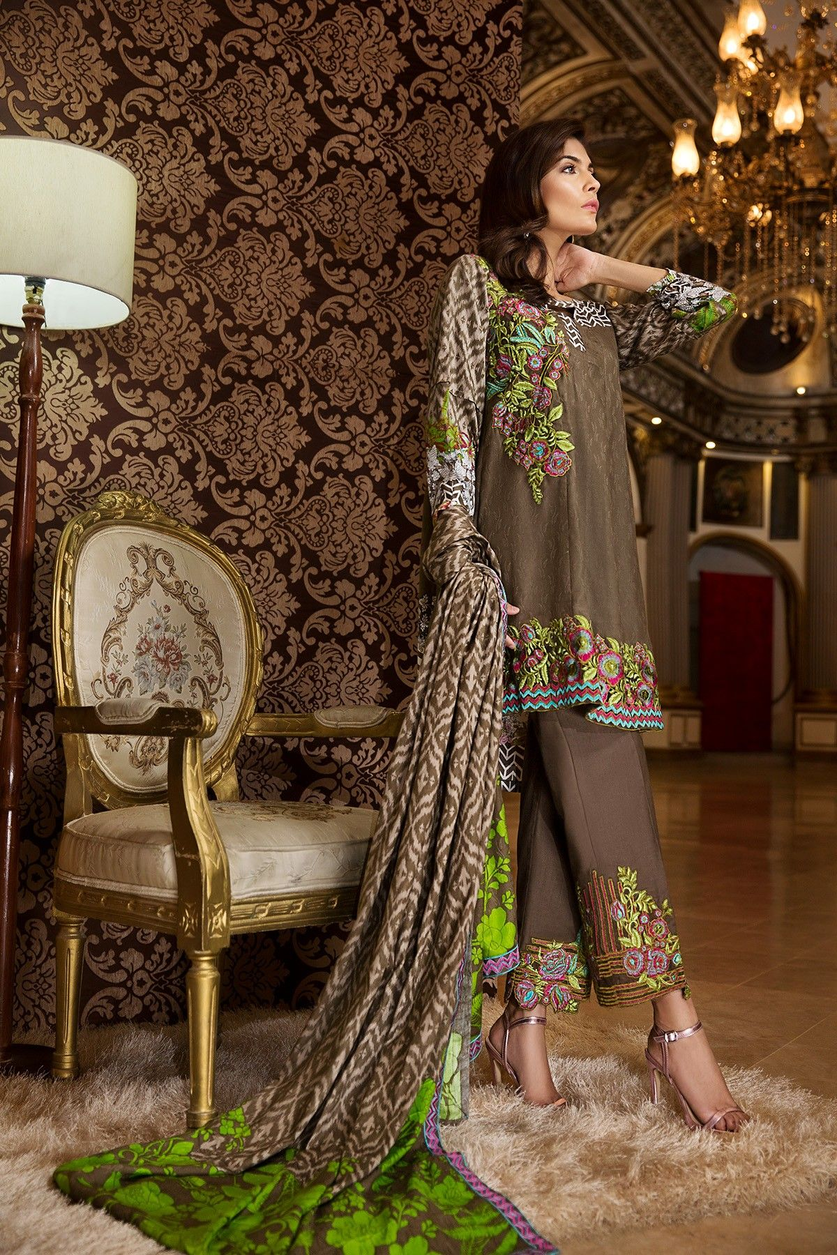 Fashion week Anees ayesha winter women apparel collection for lady