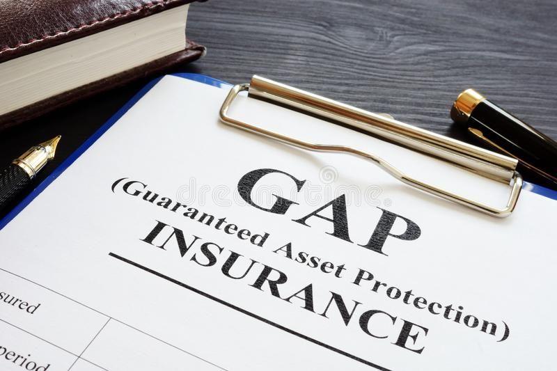Gap insurance guaranteed asset protection policy gap