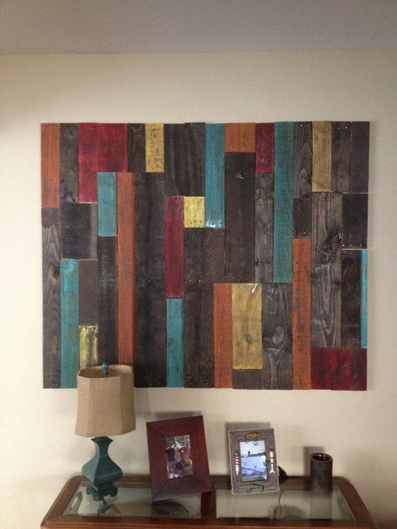 Distressed Pallet Wall Art Decor By Bbsignsdesigns On Etsy Arte