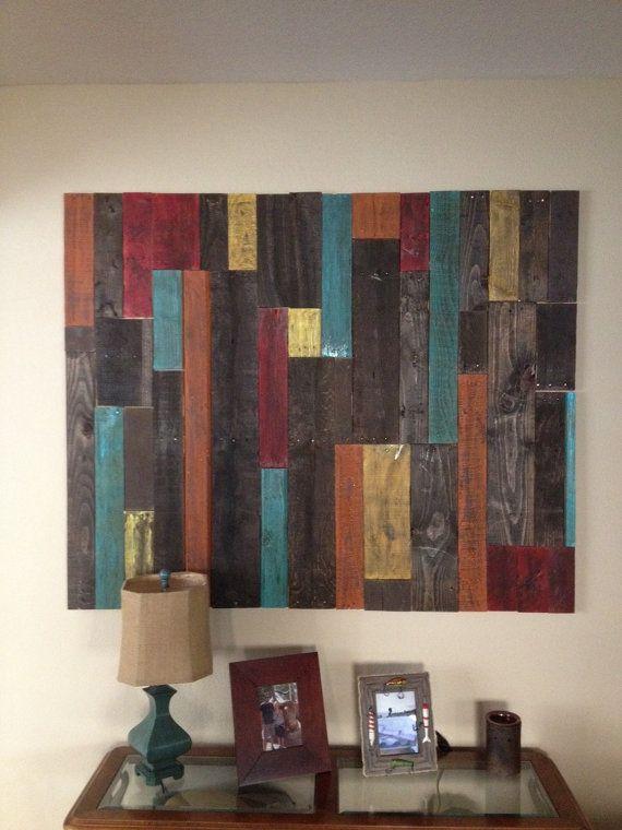 Ordinary Pallet Wall Art Part - 4: Distressed Pallet Wall Art Decor