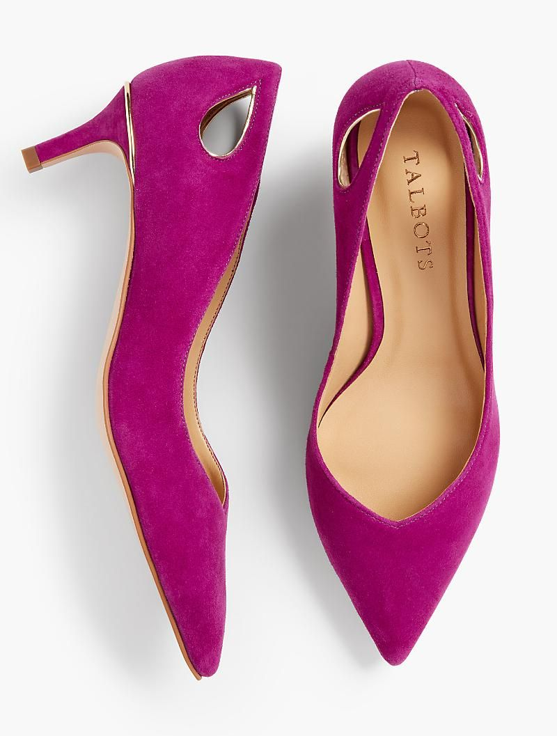 564f778eb679 Erica Cut-Out Pumps - Solid