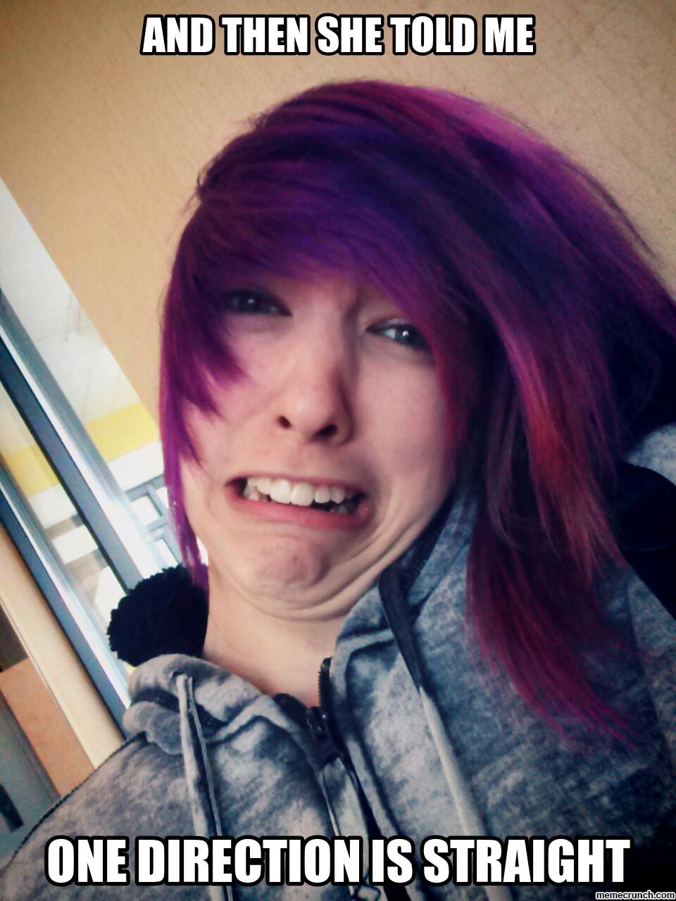 Crying Purple Hair Girl Girl Hairstyles Purple Hair Blue Hair