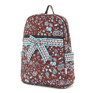 Large Belvah Quilted Paisley Backpack Purse (Brown/Blue) (Apparel)  http://howtogetfaster.co.uk/jenks.php?p=B005ZM9QS0  B005ZM9QS0