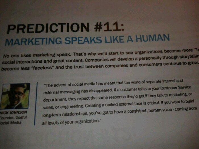 Internet Marketing predictions