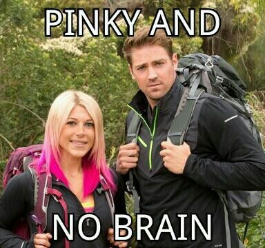 The Amazing Race - Tim and Marie most hated team - Pinky and No Brain. Why does everyone hate them. I love Marie. I hope they get back together because they obviously make a great team.
