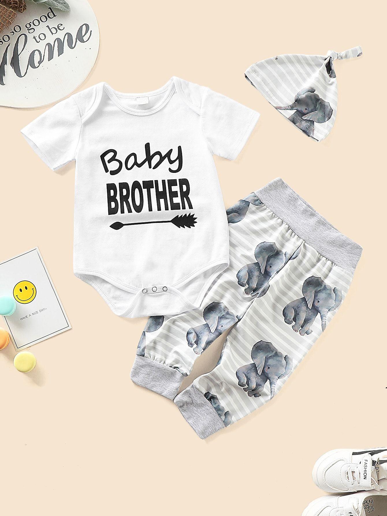 Kangaroo Baby Clothes Bodysuit Romper Unisex Boy Girl Long Short Sleeve Cotton