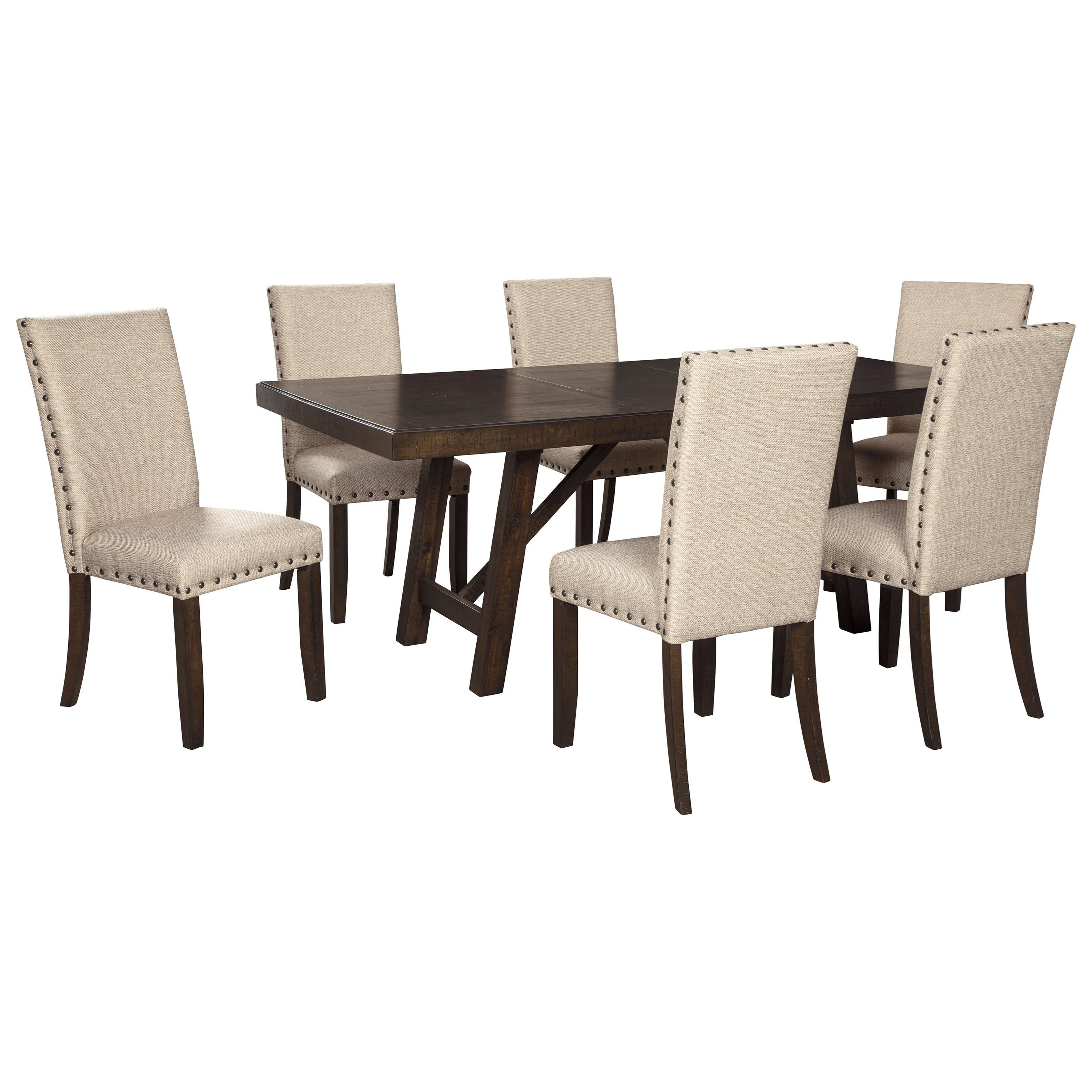 Rokane Dining Table Set For Six By Vendor 3 Dining Table