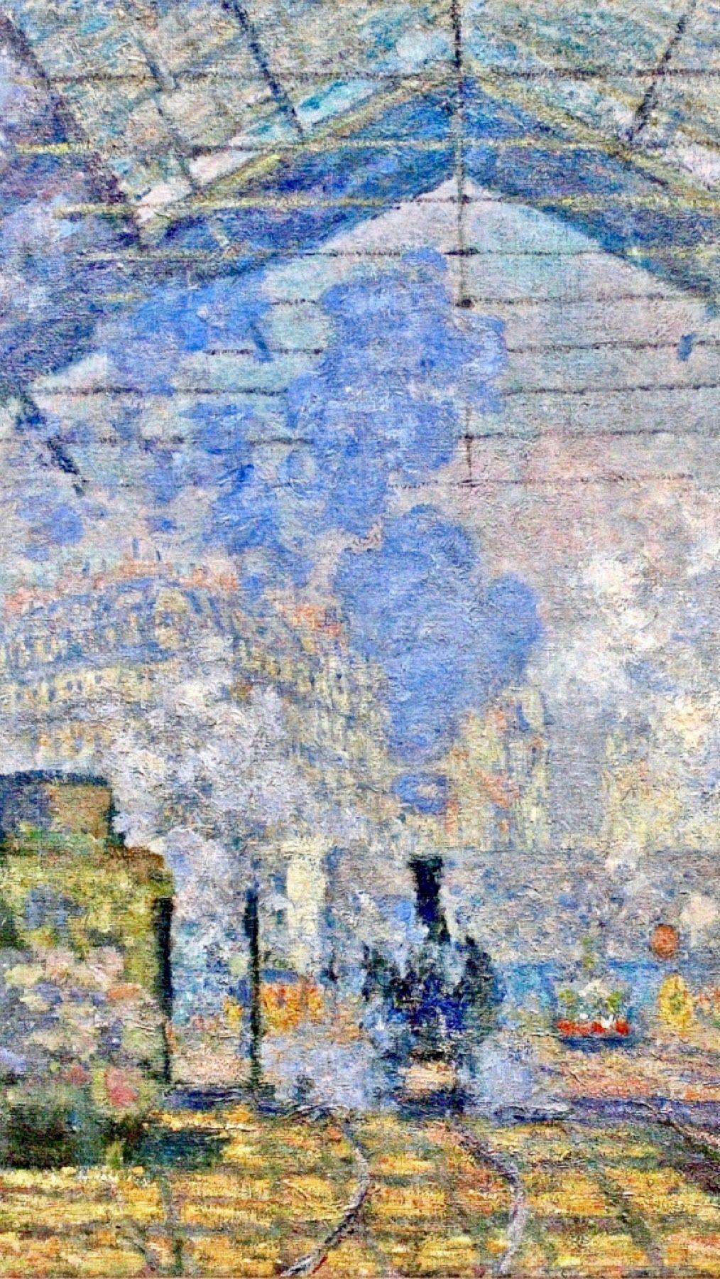 Claude Monet La Gare Saint Lazare : claude, monet, saint, lazare, Claude, Monet:, Saint-Lazare, (1877)Detail, #Monet