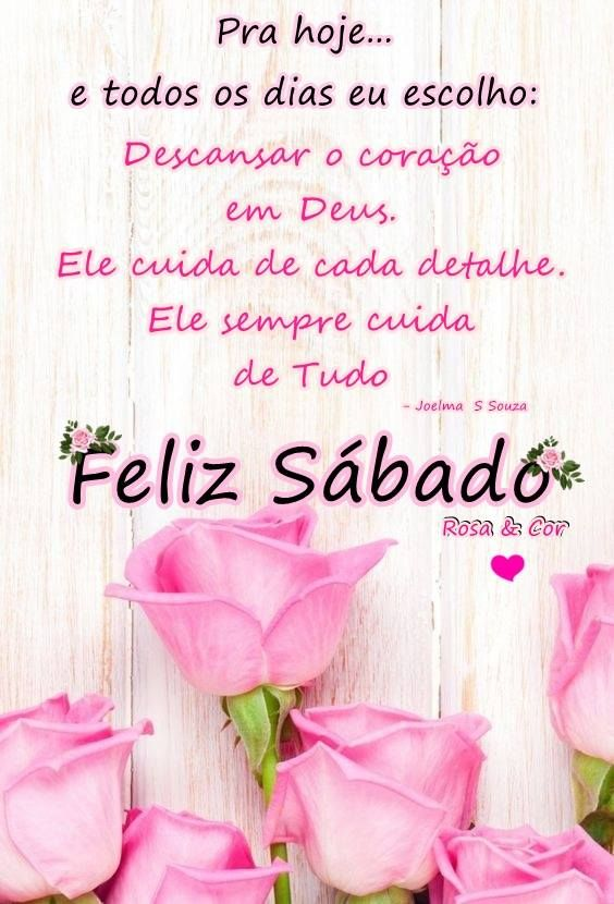 Bom Dia Feliz Sábado Otimo Sábado Good Morning