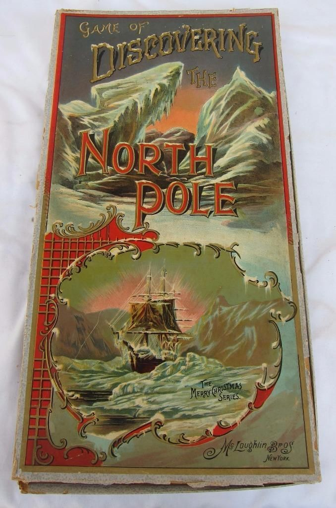 Details Here Is An Antique Rare Mcloughlin Bros Game Of