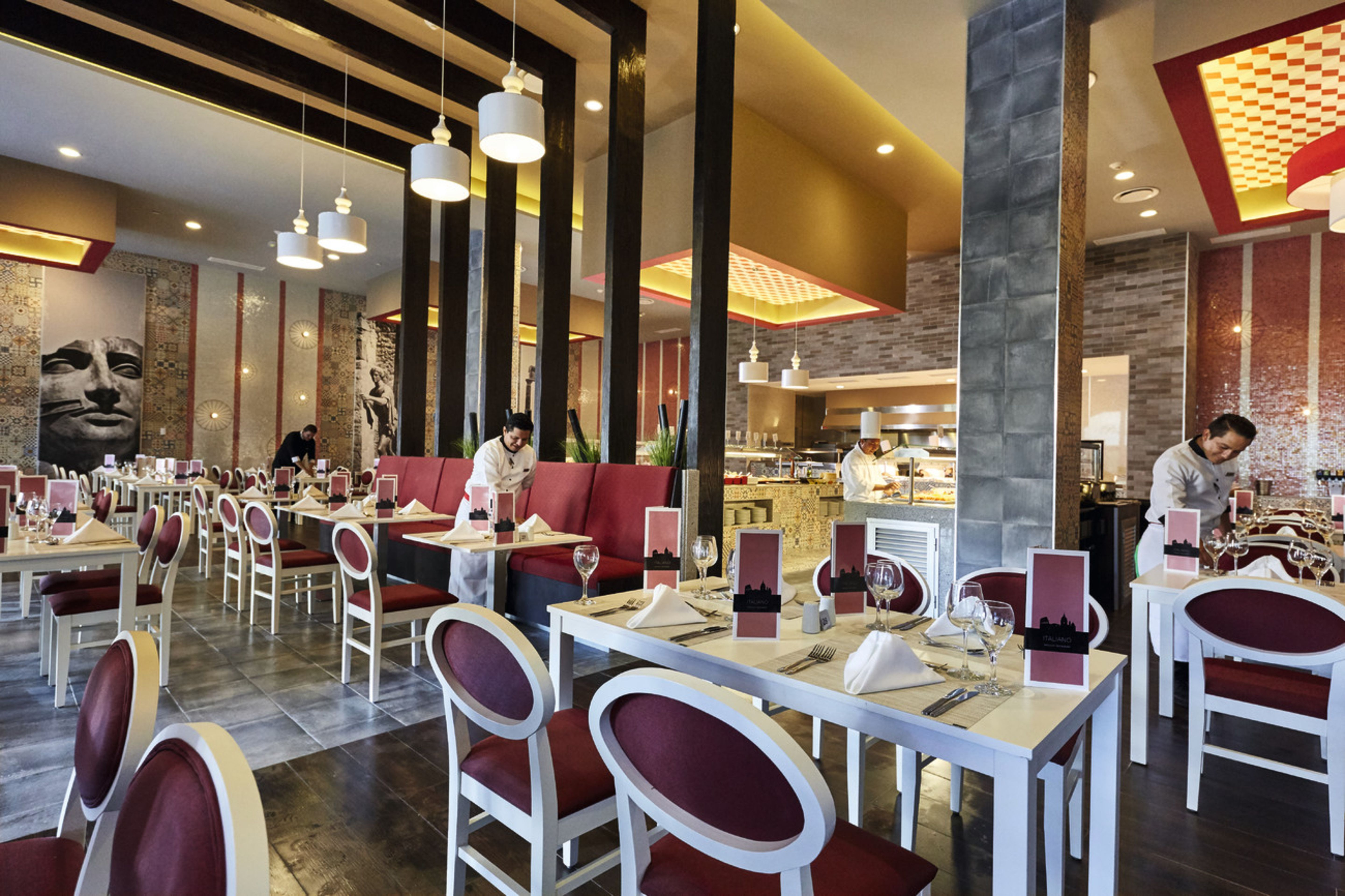 Italian Restaurant at the new hotel Riu Dunamar located in Costa Mujeres, Mexico. #Allinclusive #Mexico