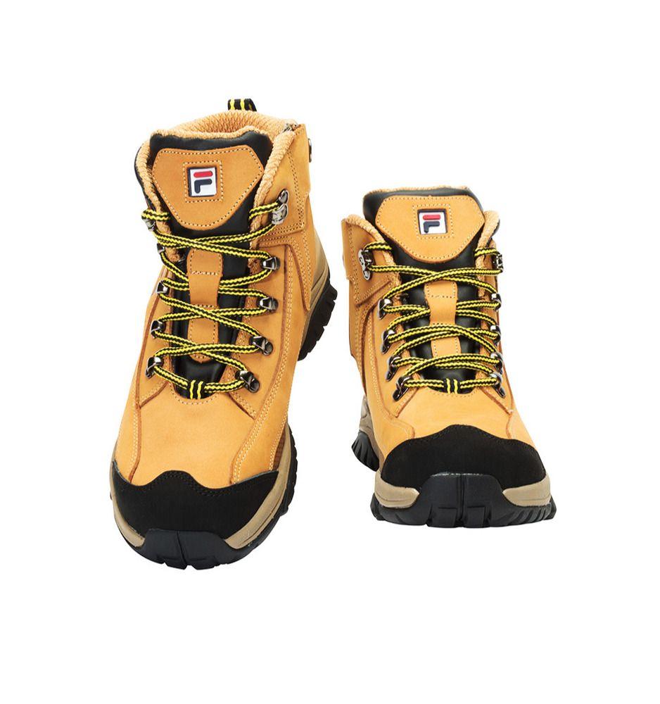 Fila best safety shoes f75 work boots waterproof nanotex