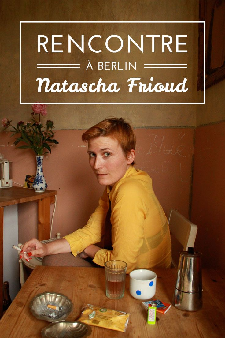 Rencontre avec Natascha Frioud, artiste illustratrice à #Berlin. Photo (c) Adeline Meilliez.