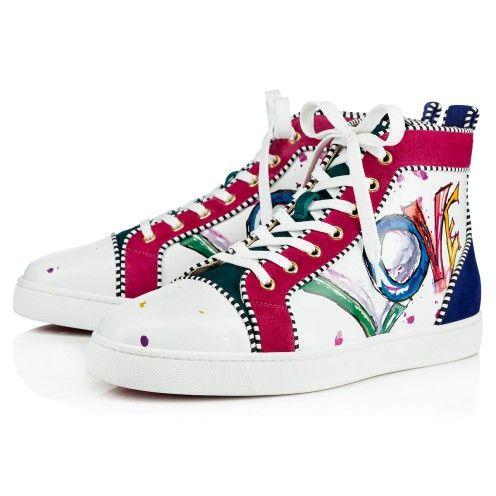 c1d74e896ceb Shoes - Louis Orlato Calf Love veau Velours - Christian Louboutin ...