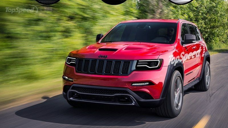 2016 Jeep Mander Grand Cherokee Srt Hellcat Review
