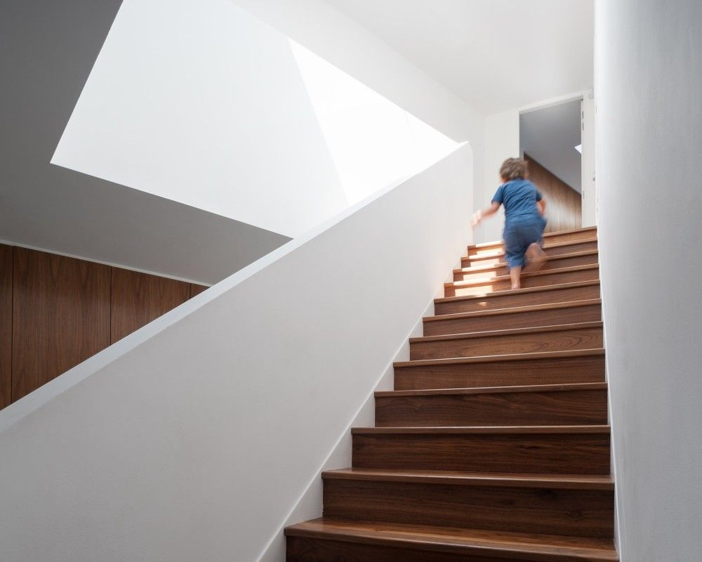 Gallery of wedge house soup architects 3 treppe pinterest