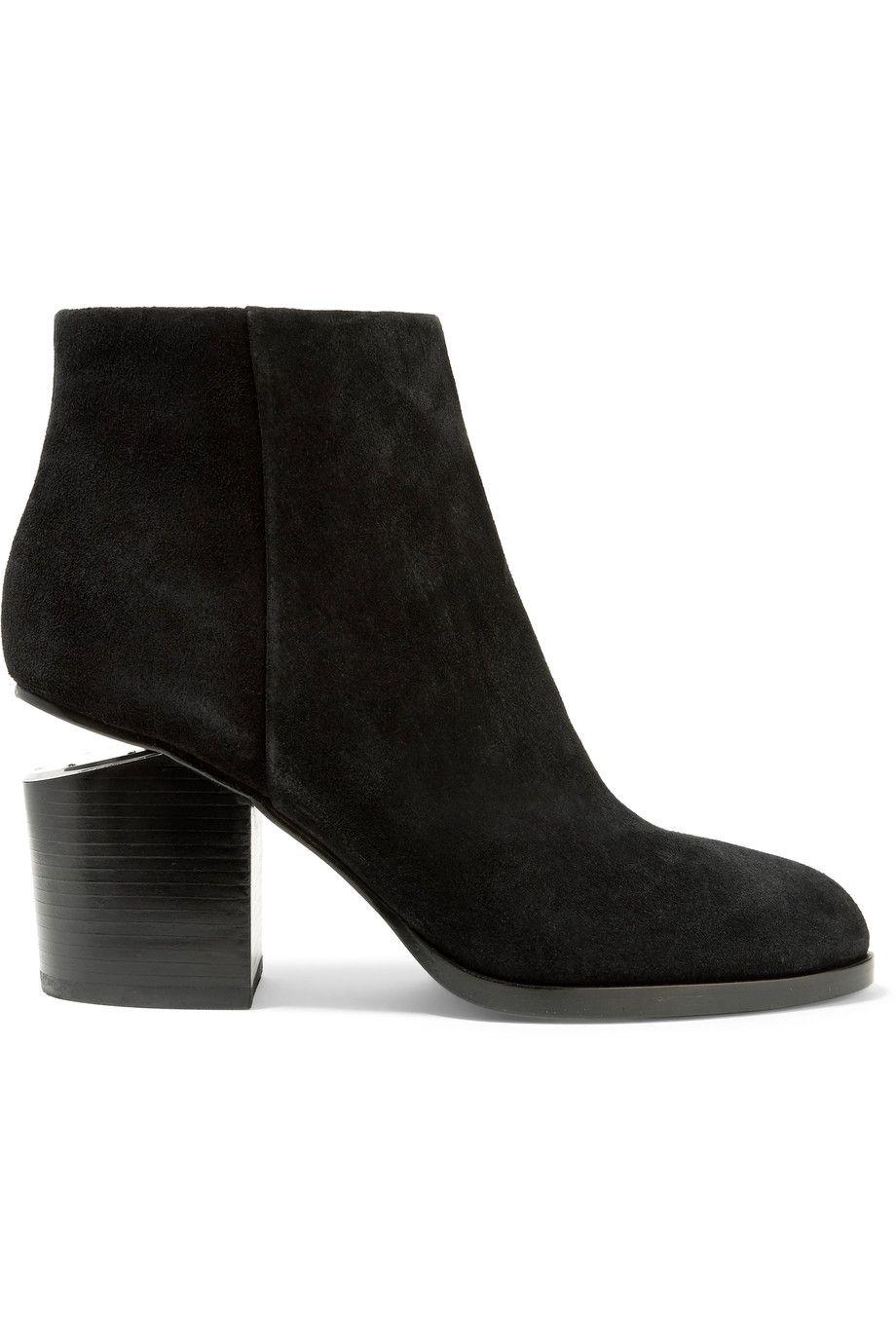 #alexanderwang #shoes #boots. Shoes Boots AnkleBlack SuedeAlexander ...