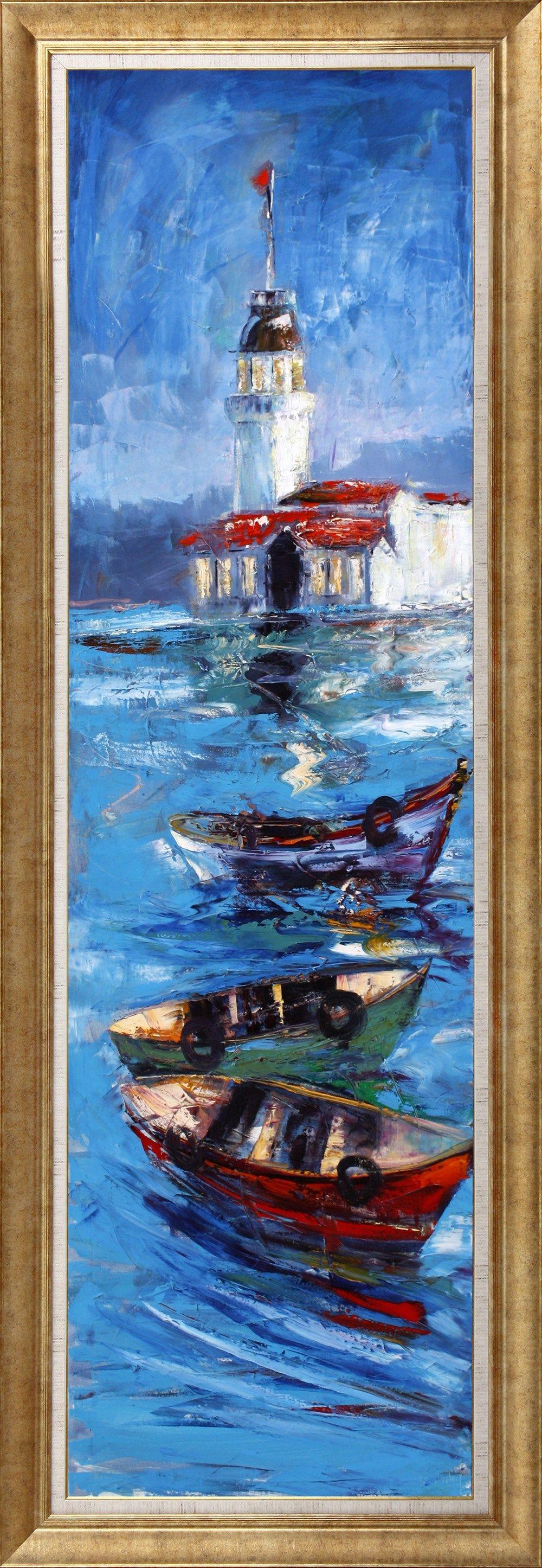 Orijinal Tuval Uzeri Yagli Boya Tablo Tablolar Tuval Sanati Resim