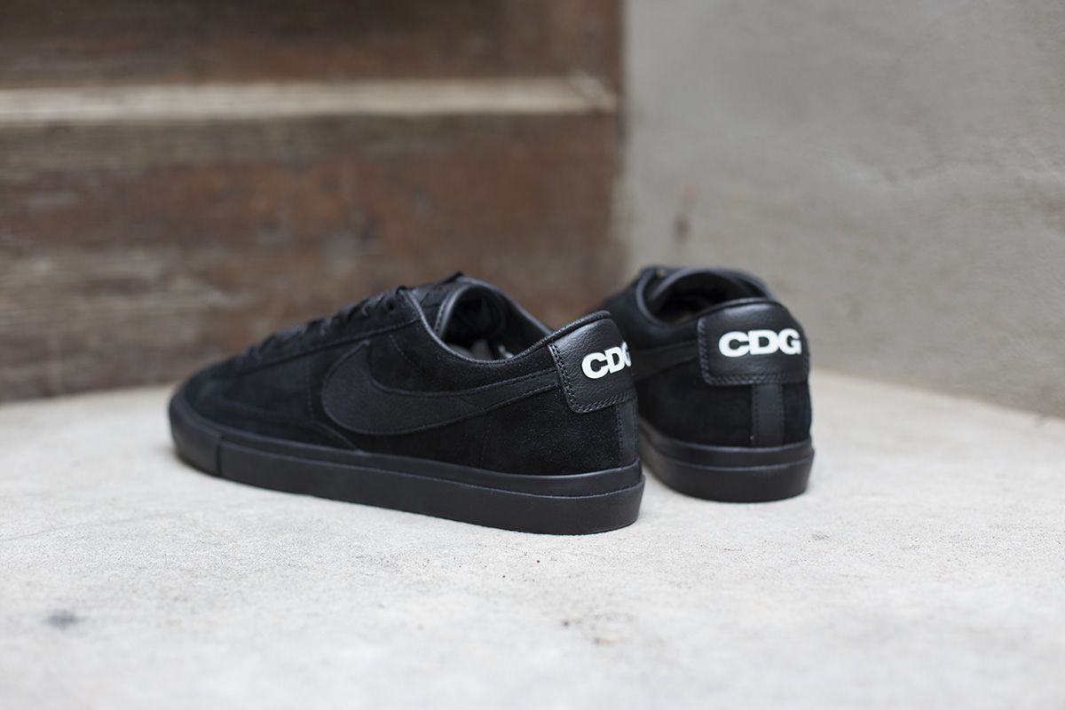 e320605a3b7 BLACK COMME des GARCONS X Nike. These days it does not happen very often  that we do not see a single image of a sneaker before its release, but this  time ...
