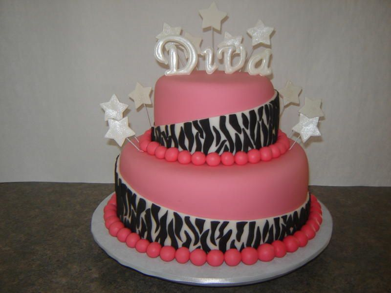 Diva Cake Designs Home Pictures Cakes I want to make Pinterest