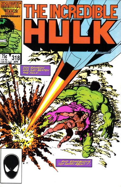 Incredible Hulk # 318 by John Byrne