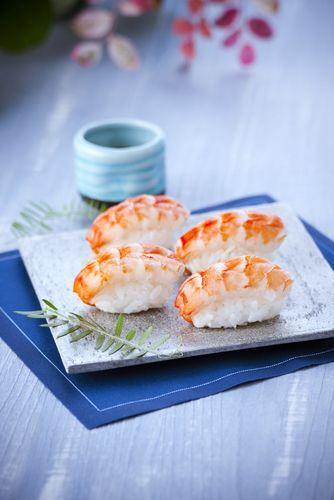 une recette simple et efficace les sushis aux crevettes r alis avec le rice cooker de chez. Black Bedroom Furniture Sets. Home Design Ideas