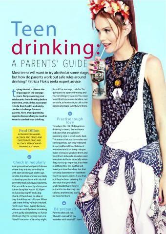 Teen drinking | Maggie Dent | parenting | Pinterest | Bere