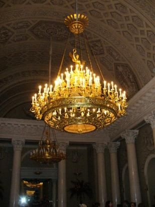 Paper mache chandelier in the yusupov palace st petersburg russia paper mache chandelier in the yusupov palace st petersburg russia mozeypictures Choice Image