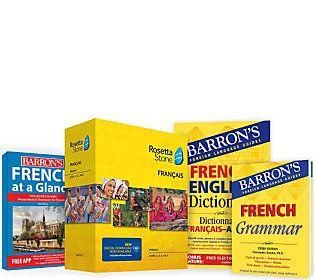 Rosetta Stone Barron's Bundle Language Learn Choice of 4