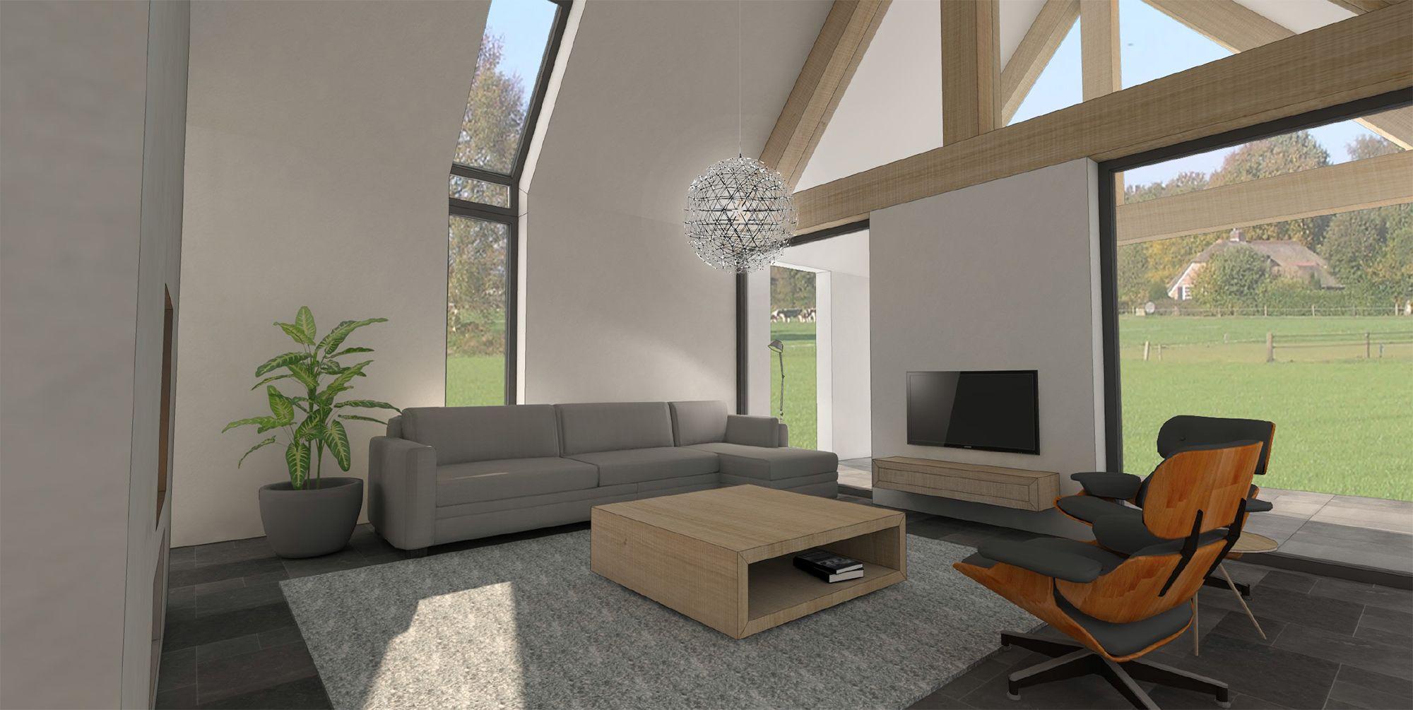 Moderne schuurwoning te Dalfsen | Korfker Architecten | interieur ...