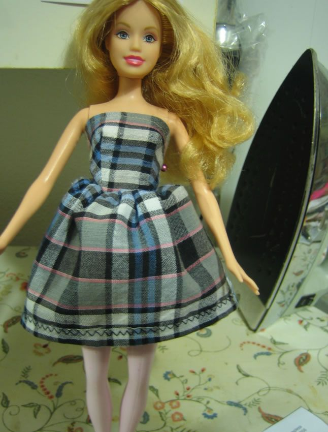 Janel Was Here: free pattern for Barbie Strapless dress | Barbie ...