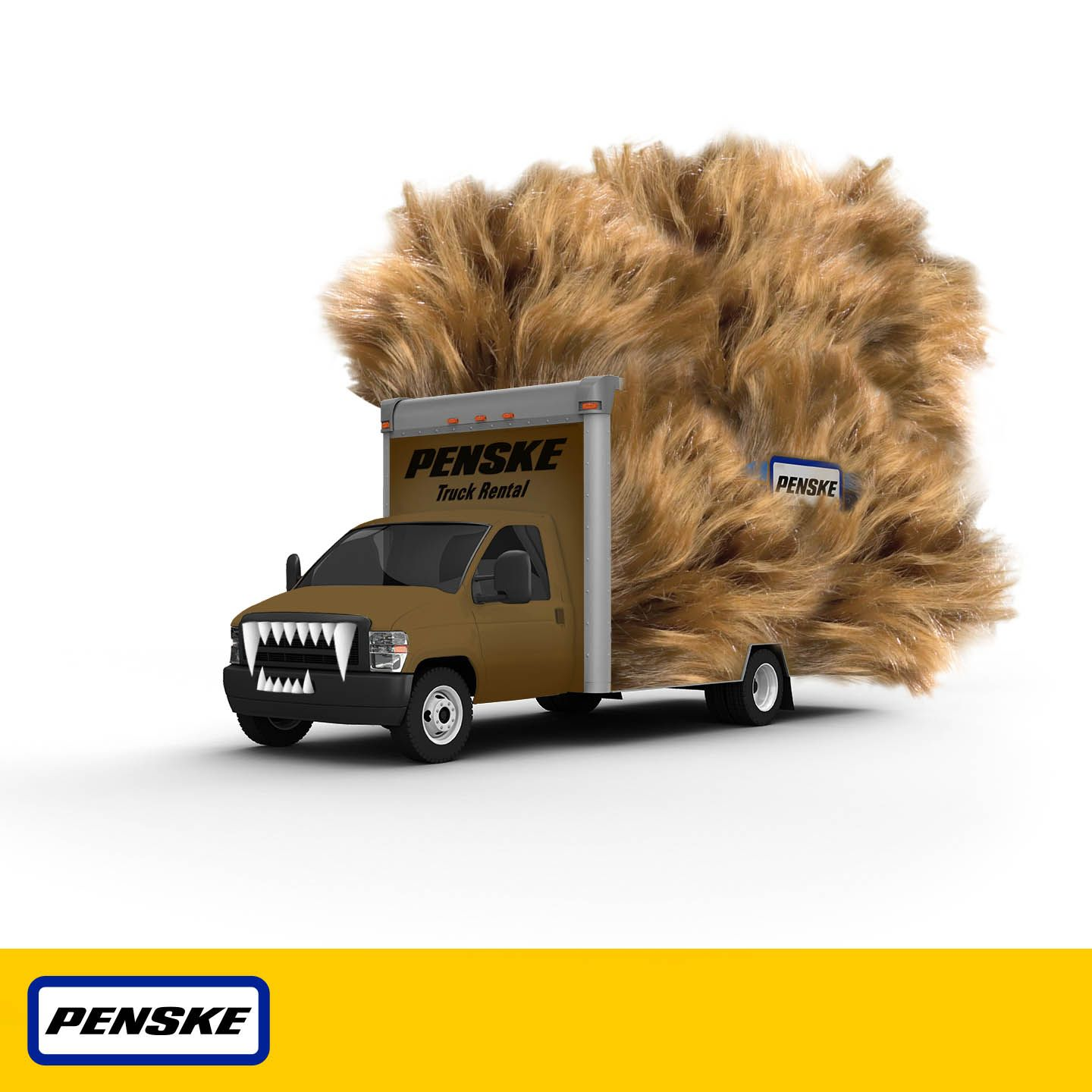 """Not sure """"witch"""" truck to rent Well if it s Halloween this Penske"""