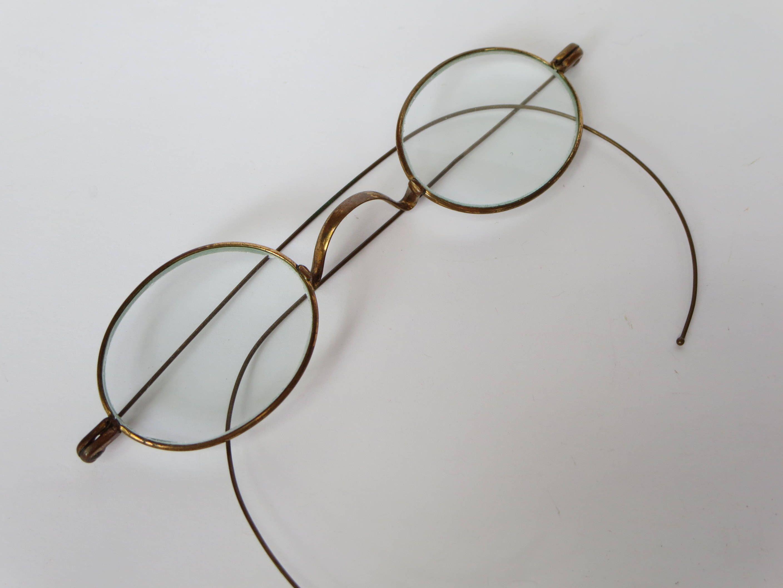 ANTIQUE EYEGLASSES, Eyeglasses frame, Accessory, Costume, Oval ...