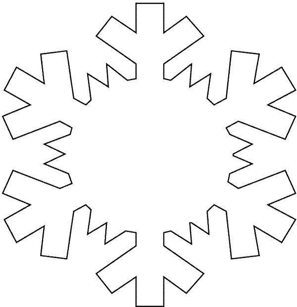 Snowflake Coloring Pages Kids Coloring - Enjoy Coloring ...