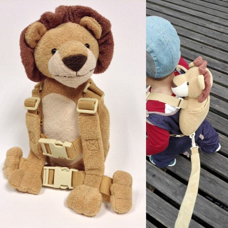 Anti-Lost Backpack 2 in 1 Baby Walking Safety Harness Reins Toddler Leash Rope